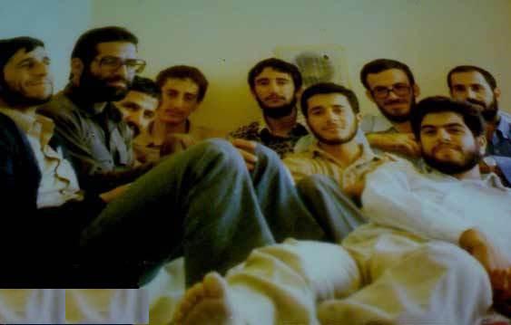 دوران دانشجویی احمدی نژاد