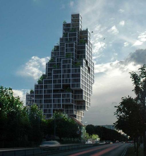 عکس های معماری|ترکیب حجم