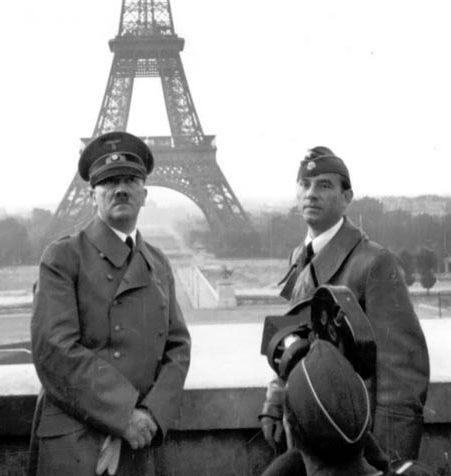 هیتلر در کنار ایفل|عکس های هیتلر