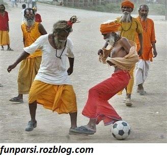 فوتبال جالب مرتاض ها